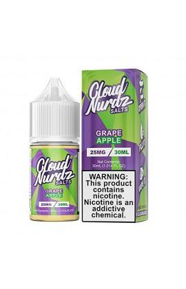 CLOUD NURDZ SALTS - GRAPE APPLE 30ML