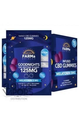 FARMa - INFUSED CBD GOODNIGHTS GUMMY 5CT 125MG
