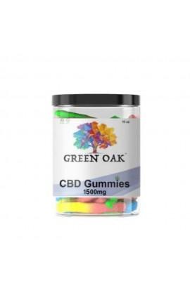 Green Oaks CBD Gummies 1500mg