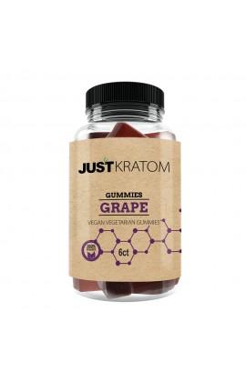 JUST KRATOM - GRAPE GUMMY JAR 6CT