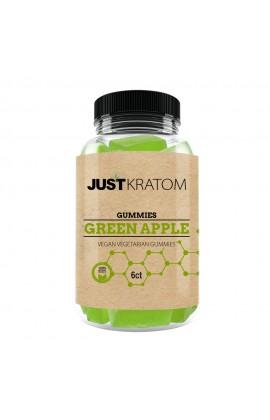 JUST KRATOM - GREEN APPLE GUMMY JAR 6CT