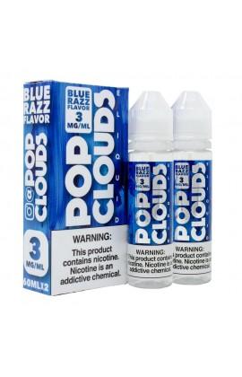 POP CLOUDS - BLUE RAZZ CANDY 2*60ML