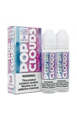 POP CLOUDS - COTTON CANDY 2*60ML